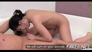 blowjob set front tv of and in bang Ash sex misty