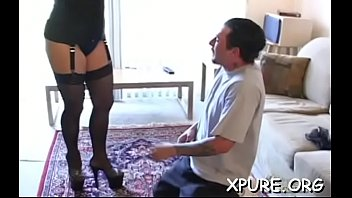 lucky guy fat gets Mn mistress with cd slave in latex anal fun part