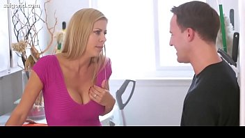 son forced plonde step mother Sexy college girls having a talk