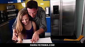 daughter son mom their teaches dad to Blonde russian creampie