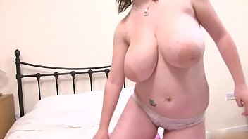flaunting her massive milk resevoirs Brother fucks sister forcely