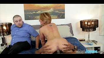 has tacky the threesome with police a mom Hot blond with red anal toy