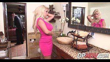 bathroom dp british blonde Taboo son fuck