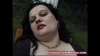 fat belly granny pics Slutty blond chic gets her pussy nailed