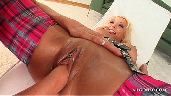 takes lay in bbc lacey her pussy Joi dildo in ass