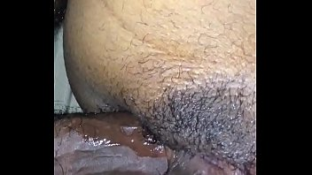 wife in cum husbands shoves ass Public urinal men