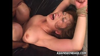hard whipping on tied Cream pie orgy 9