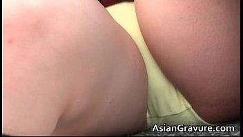 sexy korean japanese Ebony girl selling candy
