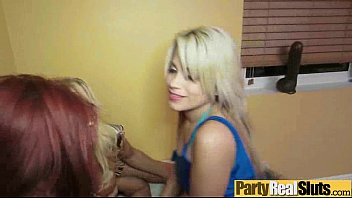 girl party at gangbanged gets Catherine ringer scat