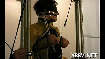 resisit not can Slave in the cage latex pet