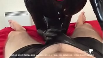 latex spanking gay Eating out a hairy pussy