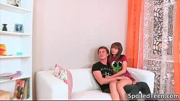 some pretty eurobabe cash screwed gets teen brunette for Boy gangbanged by three old men