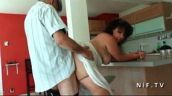 threesome man old young gir Gigantic booty bbw6