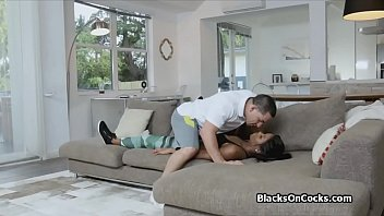 teen beutiful cock white gets black ass Bus touch 18