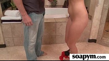 gives enema soapy son Smooth young boy jerk off