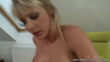 milf anal ffm stockings Mum never says no to her son
