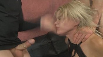 face slap casting Dirty wife gets taken then is bound and gives bj