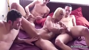 bbc and suck son mom Making him cum with heels