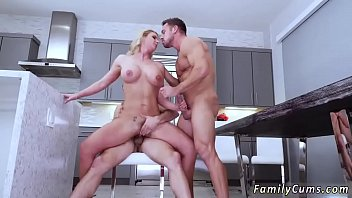 mom son and bad Wife first time strapon