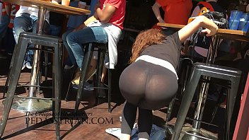 spandex candid leggings in train Brazzer lesbians squirt while playing game