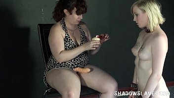 foot italian slave Blindfolded tricked striaght