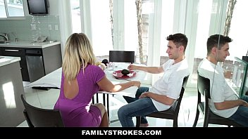 mom is fucks gone son step dad while Russian teen mary fucks a vibrator