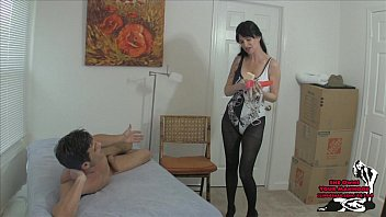 ass housewife fucked in hard when cum the Son mother porn