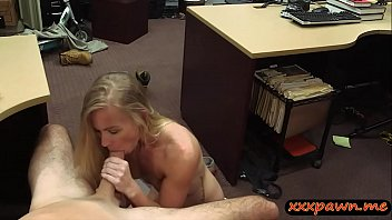 pawn at babe by nailed blonde pawnshop dude the tight Indian girls kissed hard