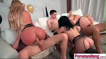 marie phoenix roughed up Triny cum on mouth