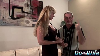 in black front of husband Odd ass fucked son mother