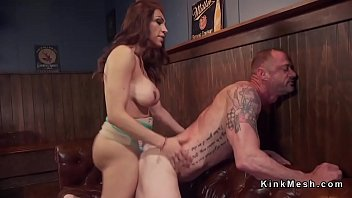 cuck dominated husband bull by Force rough deepthroat